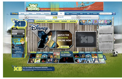 Disney XD Website